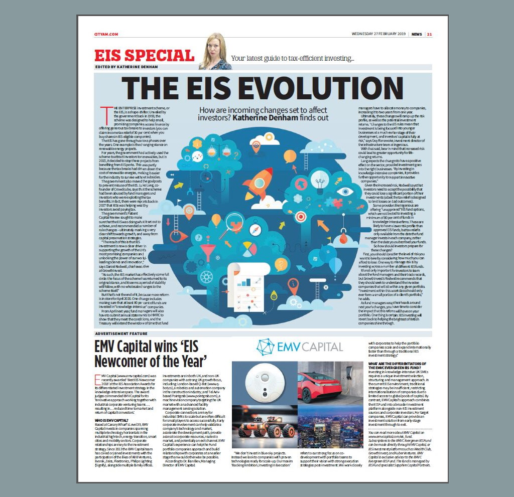 City AM-EMVC on the EIS special